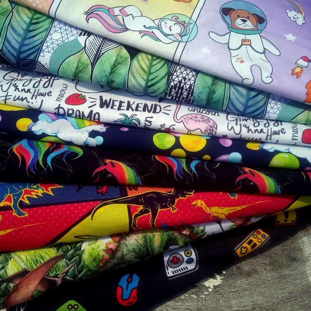 Print Your Own Design Fabrics