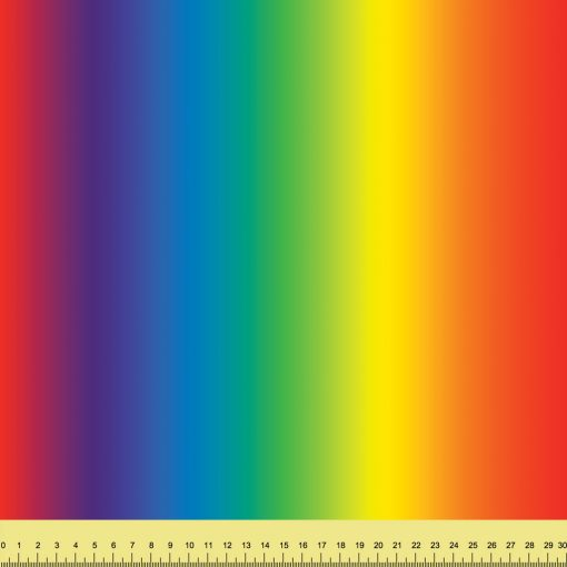 Bright Rainbow Ombre Vertical