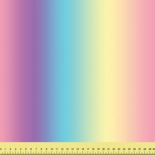 Pastel Rainbow Ombre Vertical