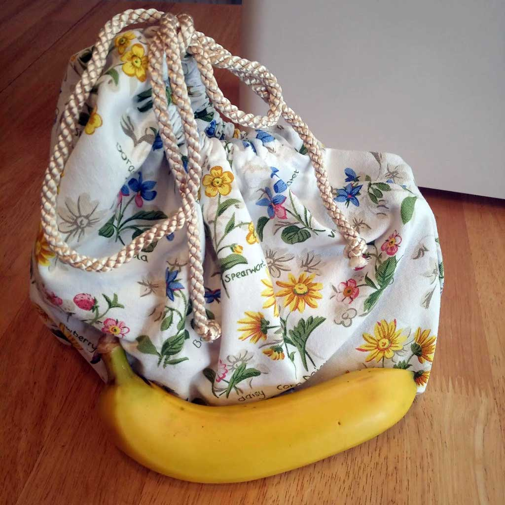 Upcycled Produce Bag Complete