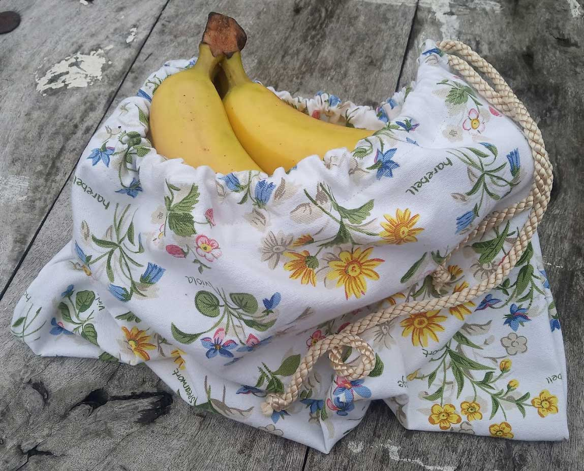 Upcycled Grocery Produce Bag