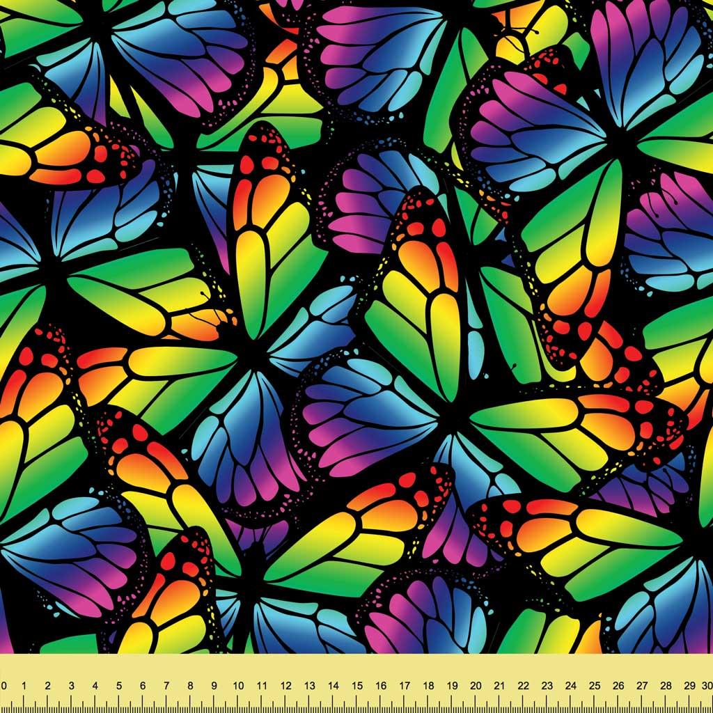 Butterfly Wings Rainbow