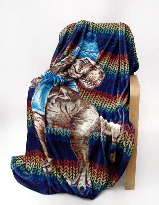 Wooly Dinosaur Blanket