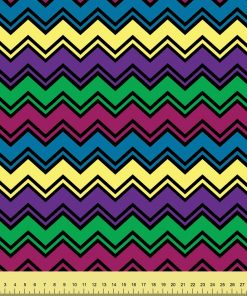 Monster Mash Chevron Stripes