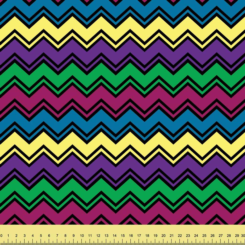 Monster Mash Chevron Stripes