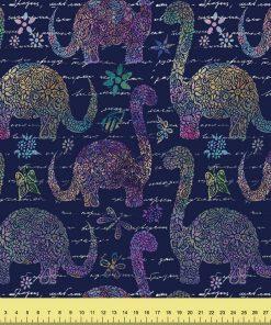 Floral Doodle Dinosaurs