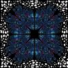 Galaxy Butterflies Circle Skirt