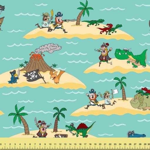 Pirates versus Dinosaurs