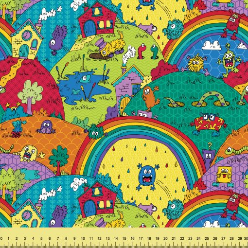 Rainbow Monsterland