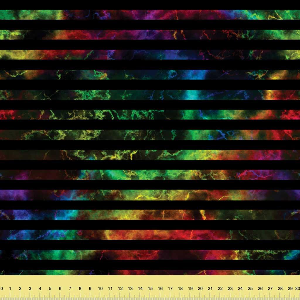 Rainbow Nebula Stripes