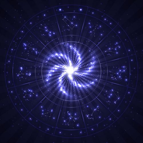 Star Sign Circle Skirt