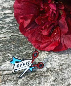 Maker Pin Badge