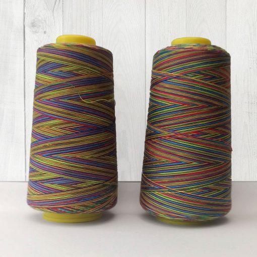 Rainbow Overlocker Thread Cones