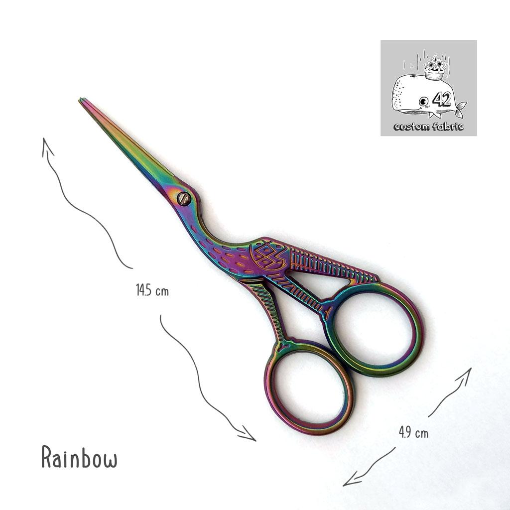 Rainbow Storm Snips